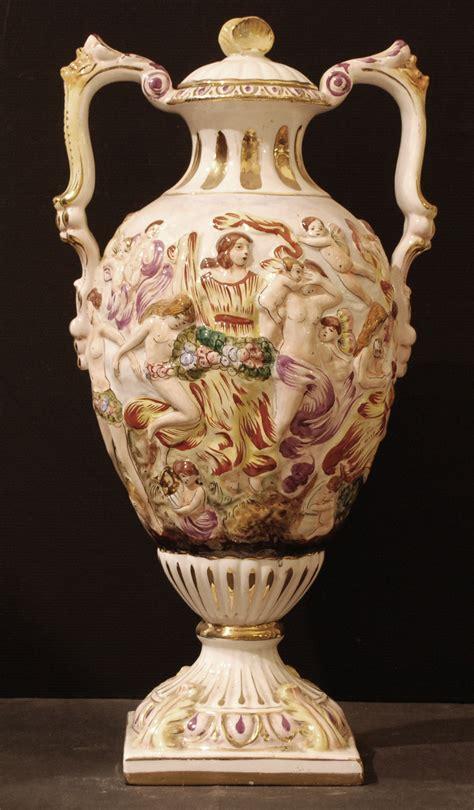 vaso capodimonte vaso in ceramica capodimonte node field autore