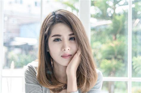 model rambut terbaru  ala korea modis  menawan