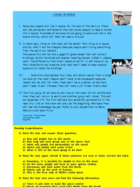 reading comprehension test doc reading comprehension exercises with answers doc french