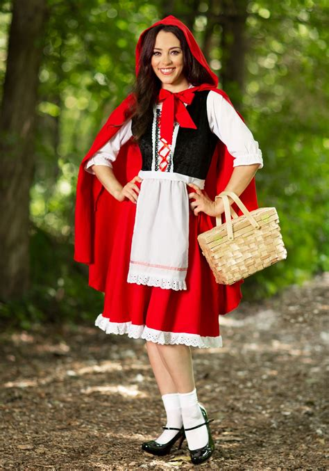 red riding hood costume adult adult red riding