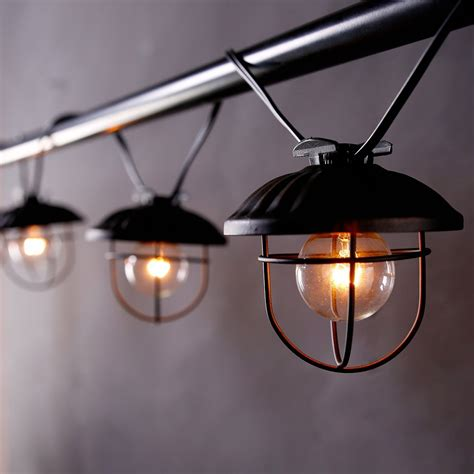30 Industrial Style Lighting Fixtures To Help You Achieve Industrial String Lights