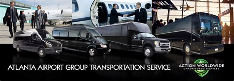 Airport Transportation Service by Atlanta Executive Transportation Services