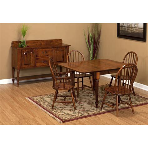 Table Valley Springs by Valley Collection Drop Leaf Dining Table Amish