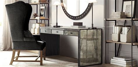 home office restoration hardware for the home
