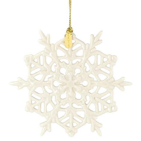 lenox twelve days of christmas snowflake ornaments 2015 lenox snow fantasies snowflake ornament