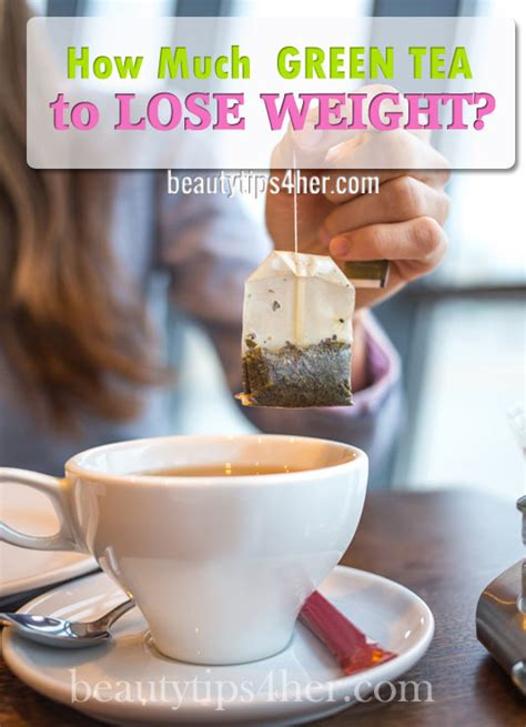 How Much Do You Lose On A Tea Detox by Maximize Your Weight Loss With Green Tea