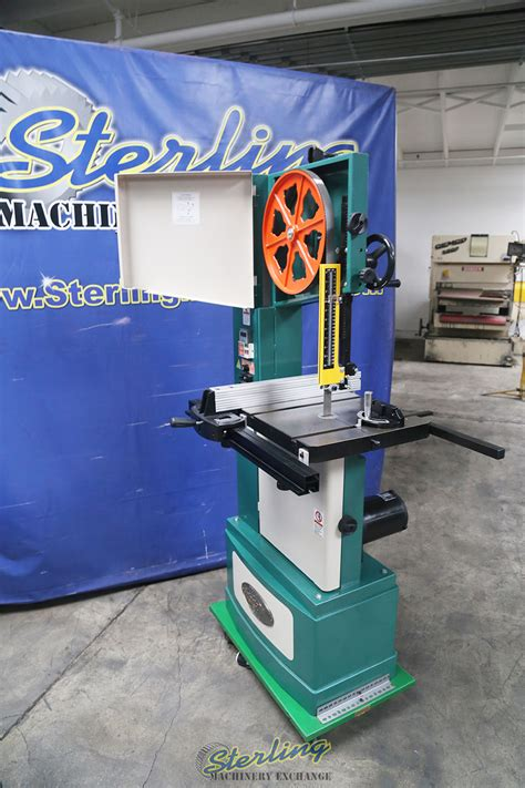 Used Grizzly Wood Or Metal Vertical Bandsaw Woodworking