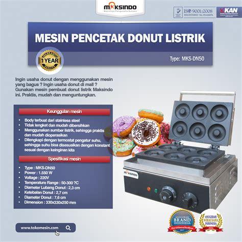 Jual Sho Metal Di Bekasi jual mesin pencetak donut listrik mks dn50 di bekasi
