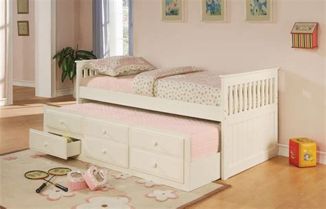 White Trundle Daybed White Daybed With Trundle Bukit