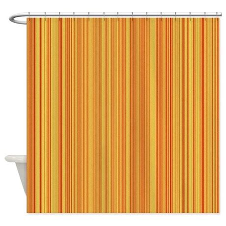 orange and white striped curtains peach and orange stripes shower curtain by showercurtains1