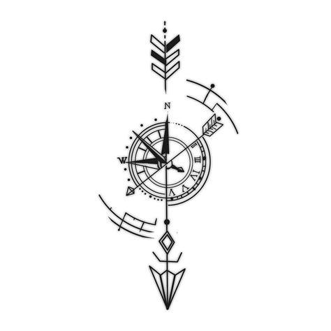 geometric compass tattoo risultati immagini per geometric compass