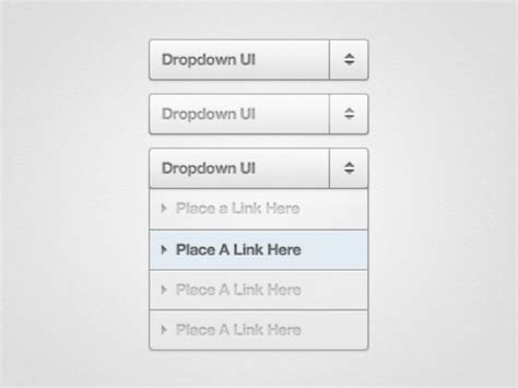 template with drop menu the drop menu free vector graphic free