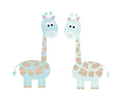 items similar to baby blue giraffe clip on etsy