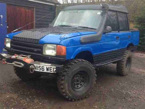 1997 land rover discovery off road 1997 land rover 90 defender 300 tdi county many extras