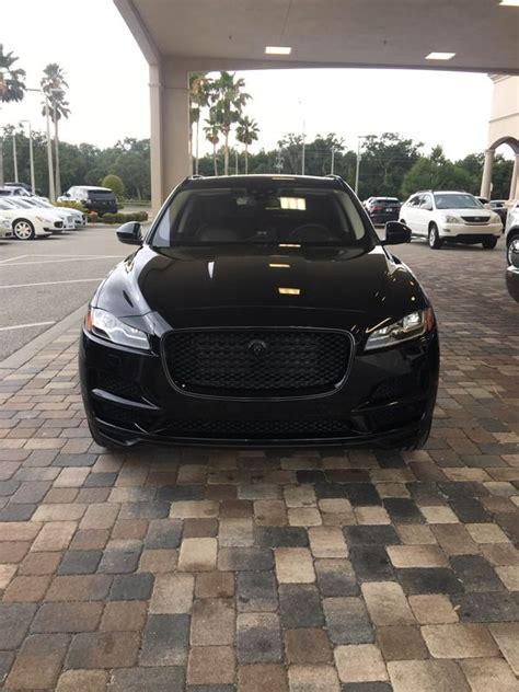 jaguar f pace blacked out ebony black jaguar f pace pictures jaguar f pace forum