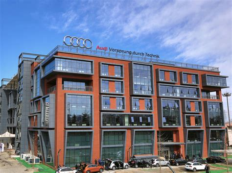 Audi R D Center by Audi Research Development Center Beijing China Audi