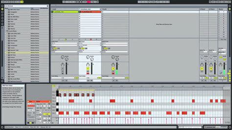 make drum pattern ableton how to make a hip hop drum groove in ableton live youtube