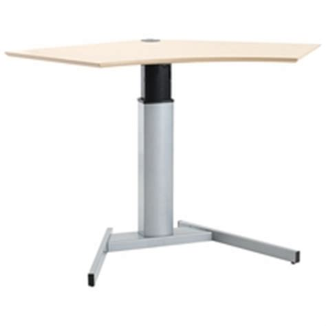 shop l shaped corner and one leg standing desks