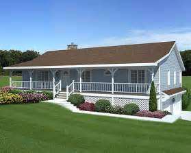 House Plans With Large Front Porch by Front Porch House Plans