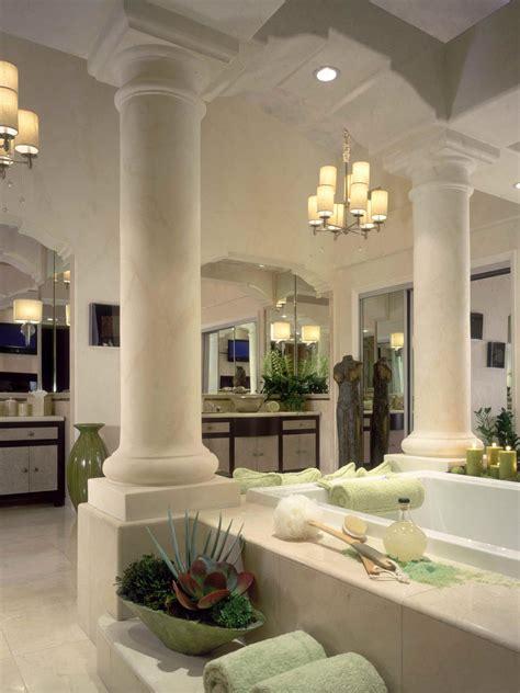 roman style bathroom greek revival style hgtv