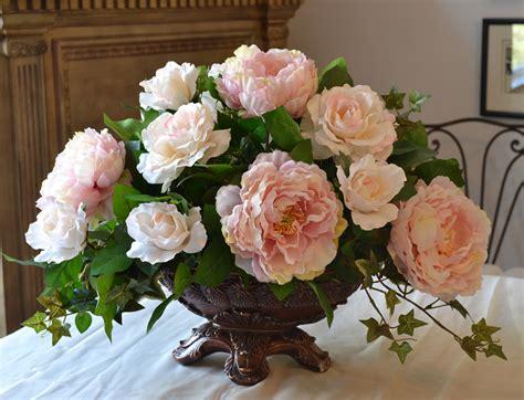 add beauty with a flower arrangement