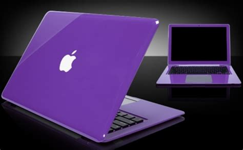 Laptop Apple Purple colored apple laptops laptops