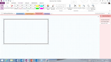 app design vorlage app design vorlage mit onenote erstellen tsjdev