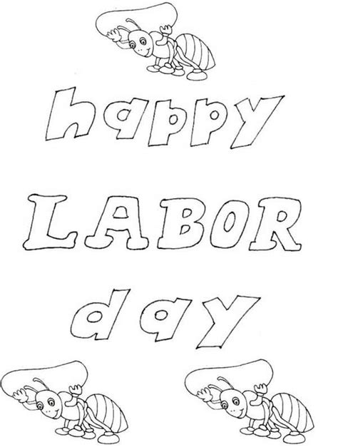 labor day coloring page kindergarten labor day coloring pages 25 image collections