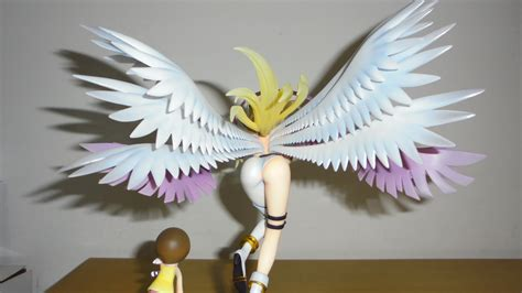 Digimon Adventure G E M Angewomon angewomon back pictures myfigurecollection net tsuki
