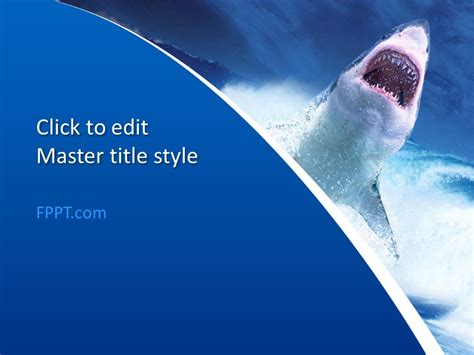Download Free Powerpoint Themes Ppt Templates Shark Powerpoint Template