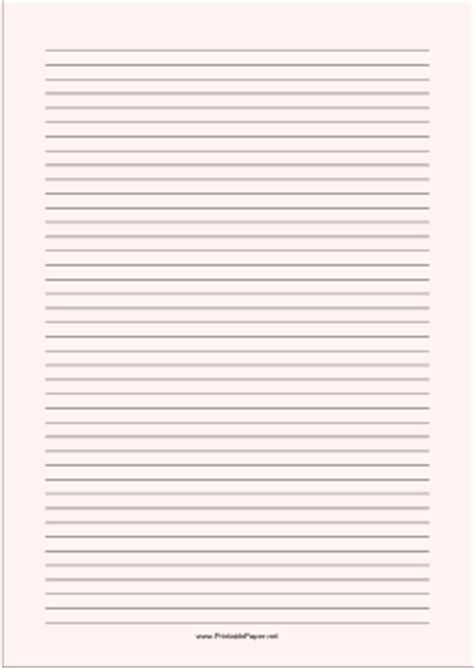 printable lined paper front and back printable lined paper pale red narrow black lines a4