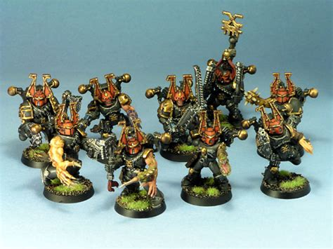 robinator s black legion chaos marines pics painting conversions artwork warhammer 40k