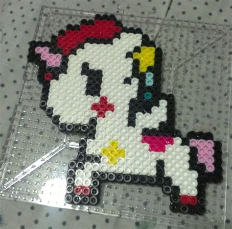 unicorn perler pattern tokidoki unicorn perler bead sprite on storenvy