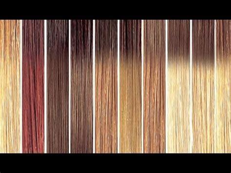 tutorial carta de colores para el cabello youtube mechas californianas en casa mi experiencia personal kit