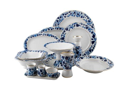 dinner set blue bells dinner set 33 pcs lomonosov porcelain
