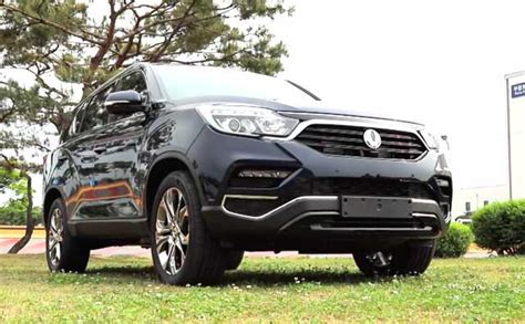 new mahindra suv rexton new ssangyong rexton review mahindra s next big suv for india