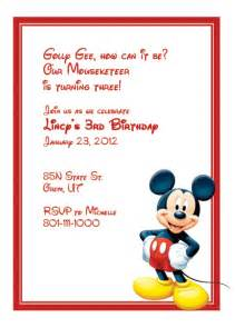 mickey mouse free invitation wedding invitation templates printable invitation kits