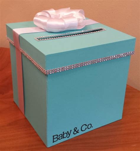 Baby Shower Gift Card Holder Box by Card Box With Personalization For A Wedding Baby Shower