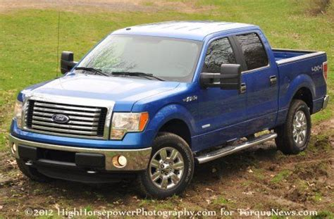 2012 ford f150 v6 mpg the 2012 ford f150 4x4 xlt ecoboost a 20 mpg on a