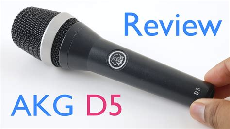 test microfono akg d5 review and microphone test