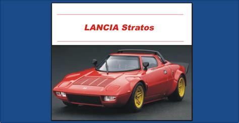 Lancia Parts Lancia Stratos Parts Midwest Bayless Italian Auto