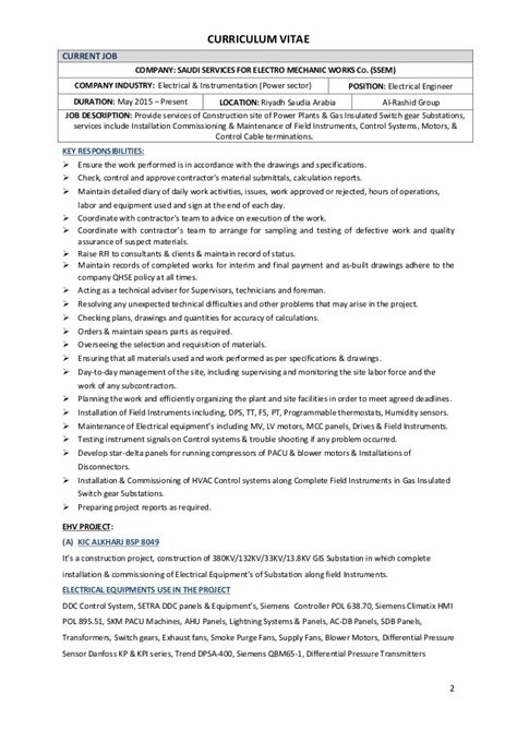 Electrical Engineer Responsibilities by Description Of Electrical Engineer Botbuzz Co