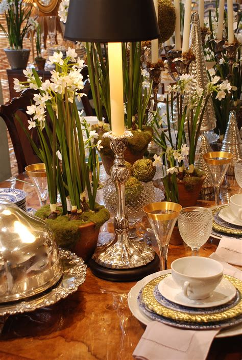 beautiful table silver makes holiday decor soar nell hills