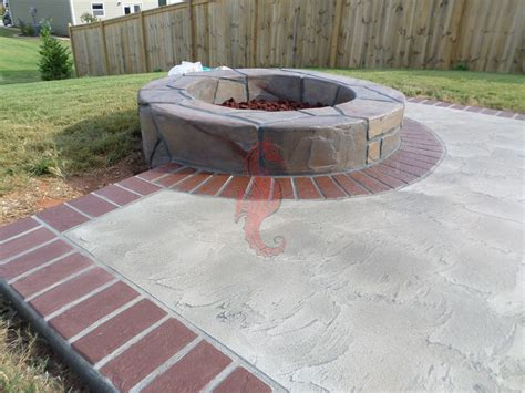 Outdoor Bench Tops Concrete Fireplaces Bbq Grills Fire Pits Greenville