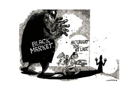 Black Market black market and other fund extremist groups to counter