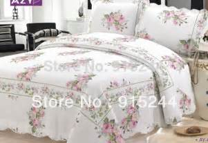 Bed Covers And Quilts Aliexpress Buy Dot Small Flower Bedspread Cheap