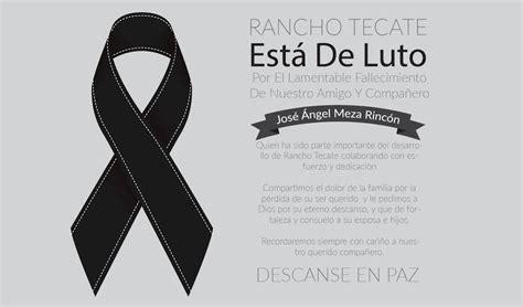 imagenes luto por nuestros soldados la familia rancho tecate est 225 de luto por el lamentable