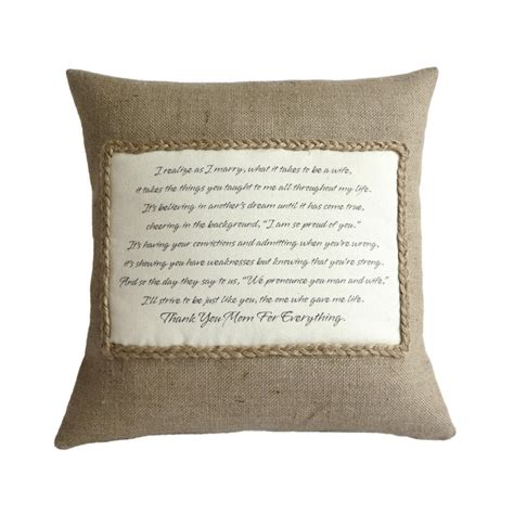 Poems About Pillows by Personalised Poem Pillow Cover On Luulla