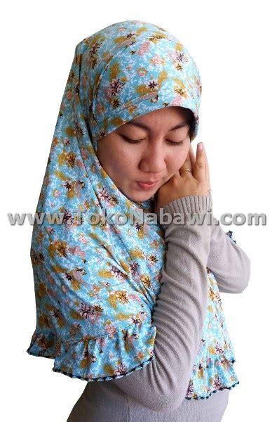 Jilbab Instan Hasanah Bunga jilbab instan bunga oleh oleh haji