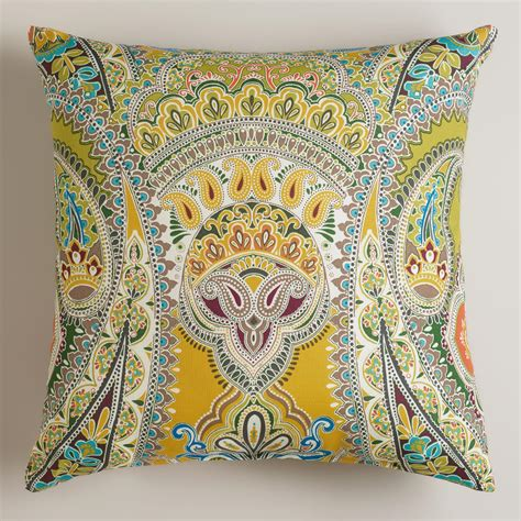 Paisley Throw Pillow by Venice Paisley Outdoor Throw Pillow World Market